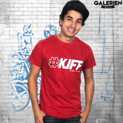T-Shirt KIFF ! Rouge