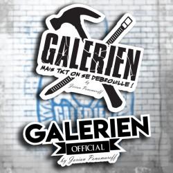 Mix 6 Stickers Galérien...