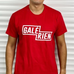 T-Shirt Galérien ! Rouge