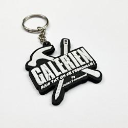 Porte clés Galérien Marteau